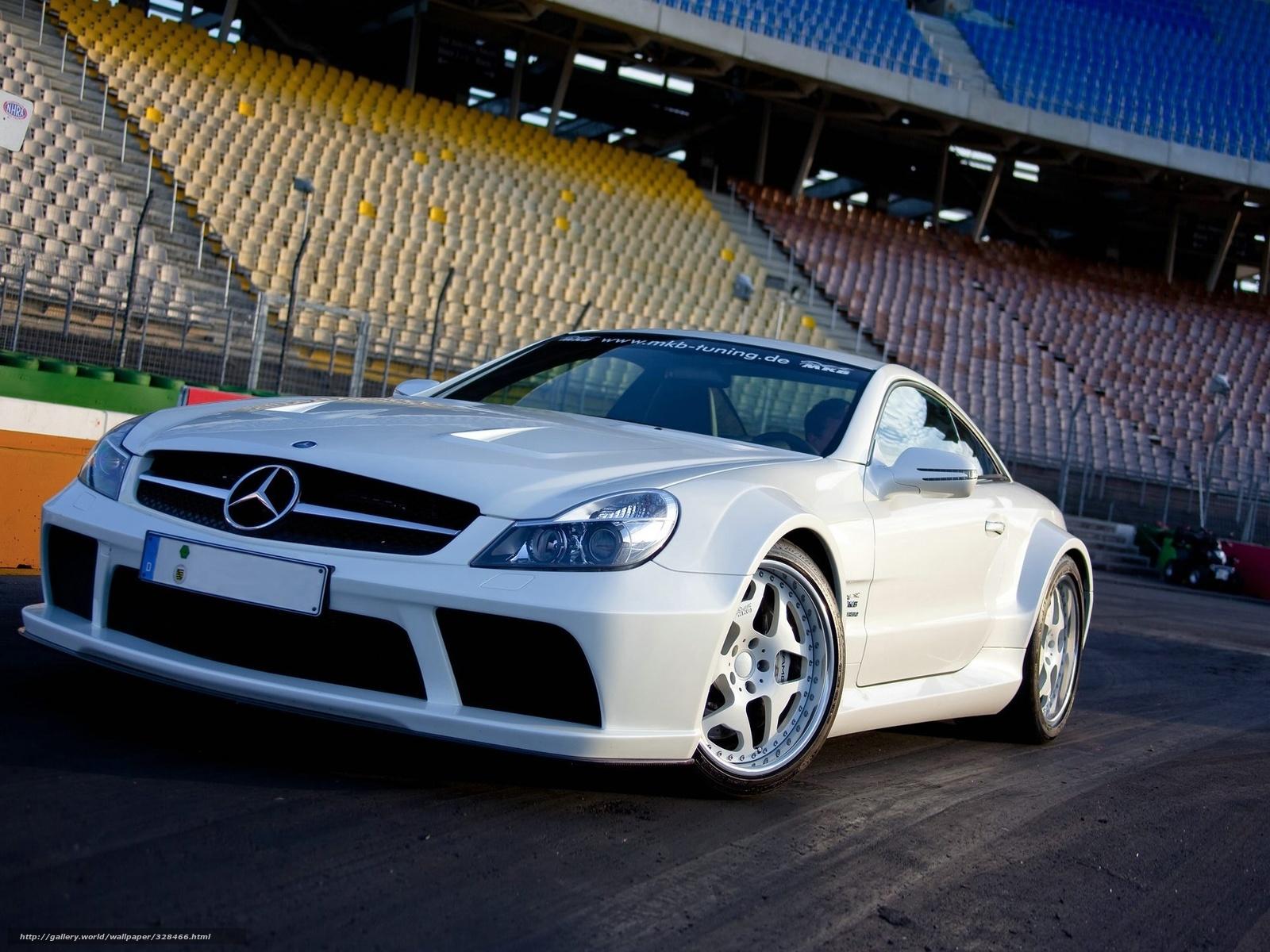 scaricare gli sfondi Mercedes,  sl65,  bianco,  scomparto Sfondi gratis per la risoluzione del desktop 1920x1440 — immagine №328466