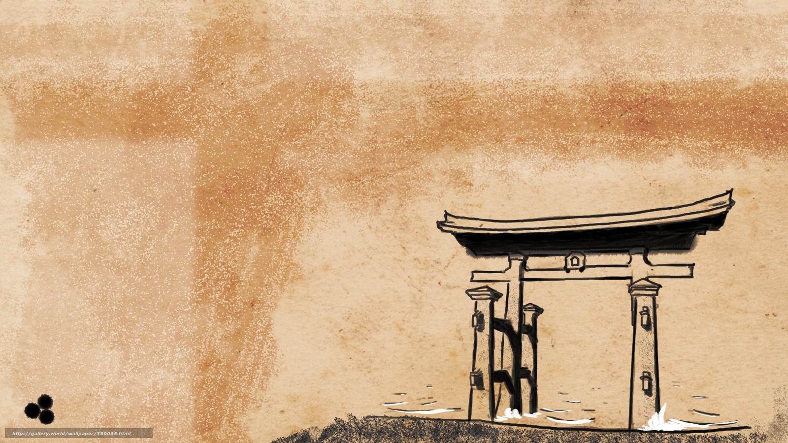 tlcharger fond d 39 ecran torii shintosme japon de style japonais fonds d 39 ecran gratuits pour. Black Bedroom Furniture Sets. Home Design Ideas