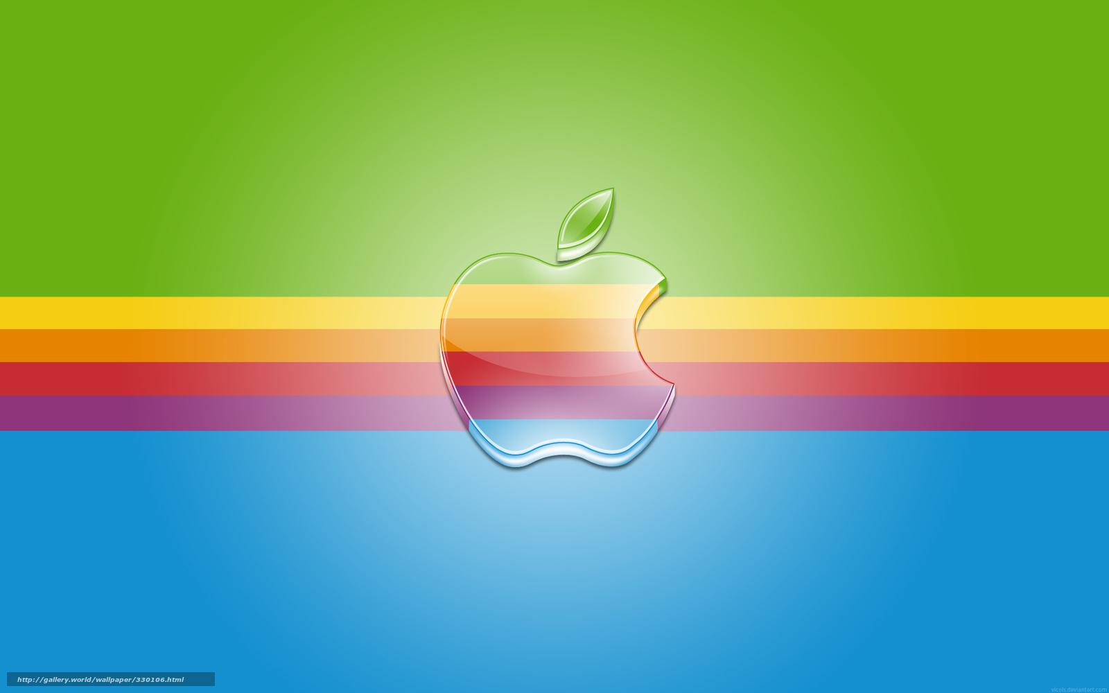 Download Wallpaper Rainbow Band Logo Free Desktop