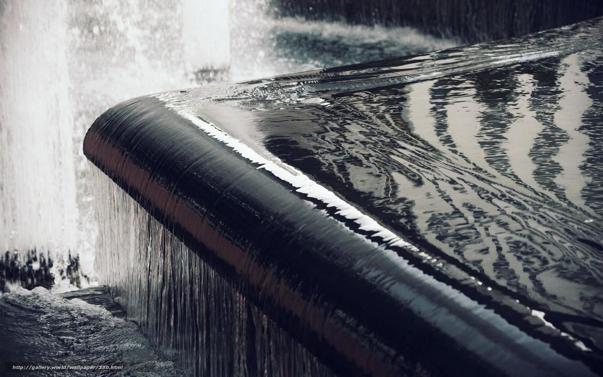 Скачать обои вода,  течение,  сила,  блеск бесплатно для рабочего стола в разрешении 1920x1200 — картинка №330