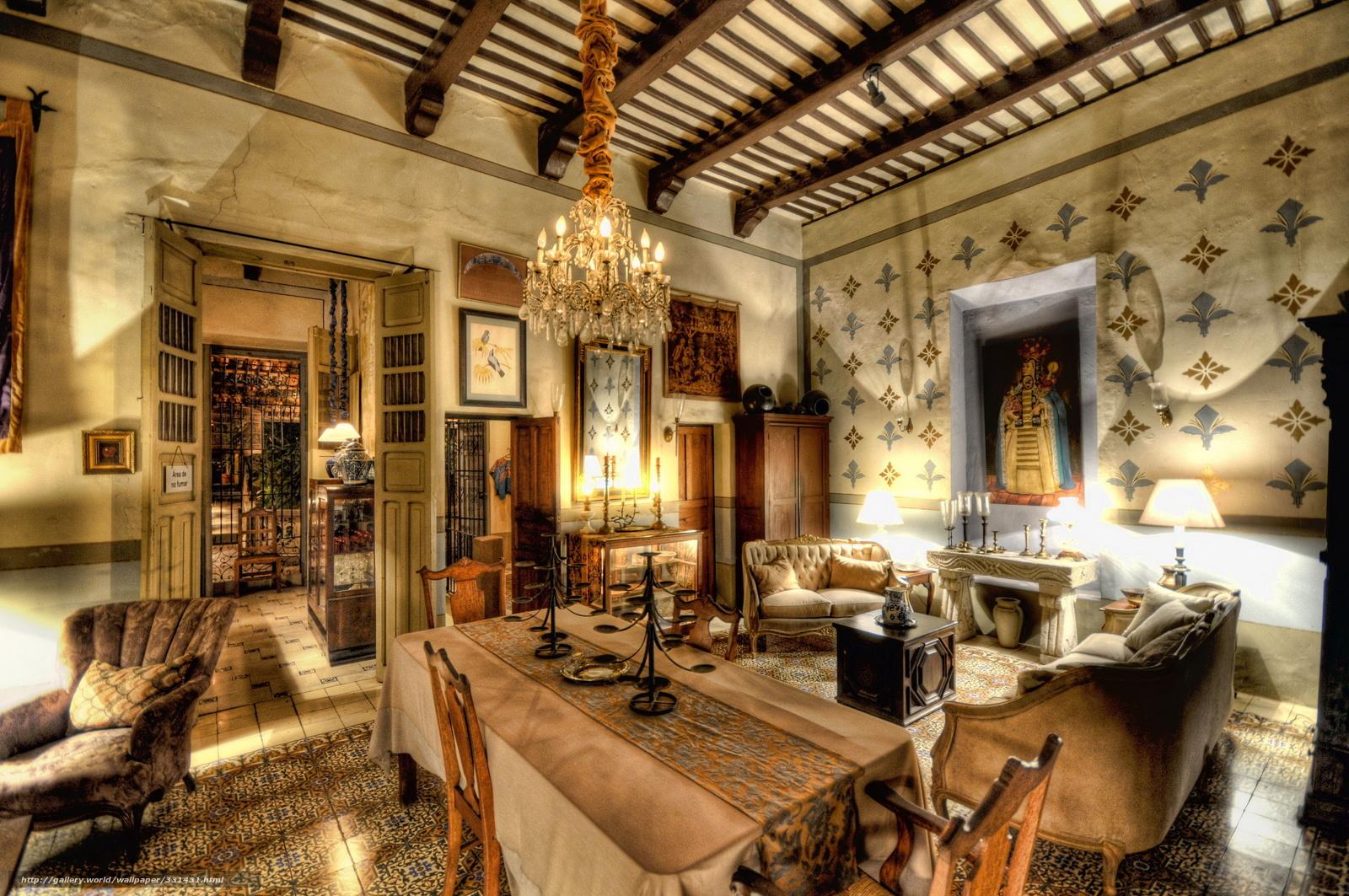 Download wallpaper interior,  room,  average,  century free desktop wallpaper in the resolution 4000x2657 — picture №331431