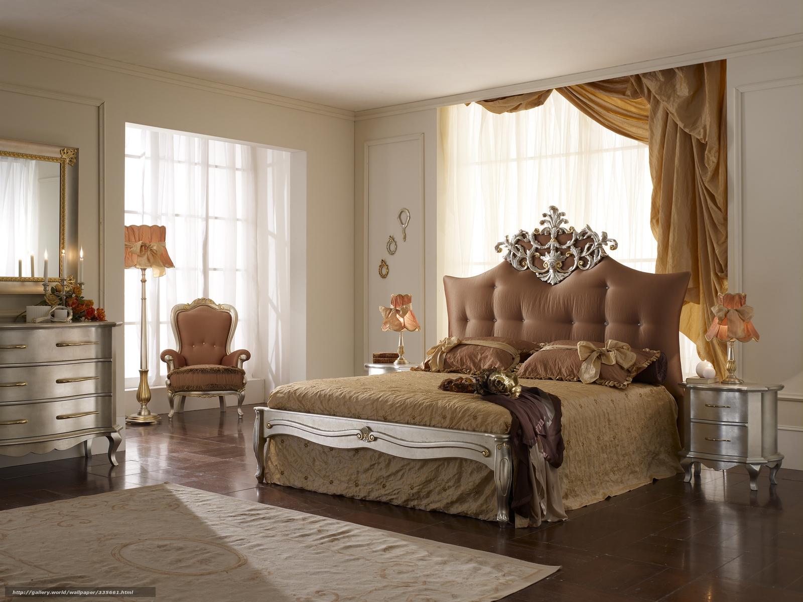 Scaricare gli sfondi camera da letto letto interno - Sedia camera da letto ...