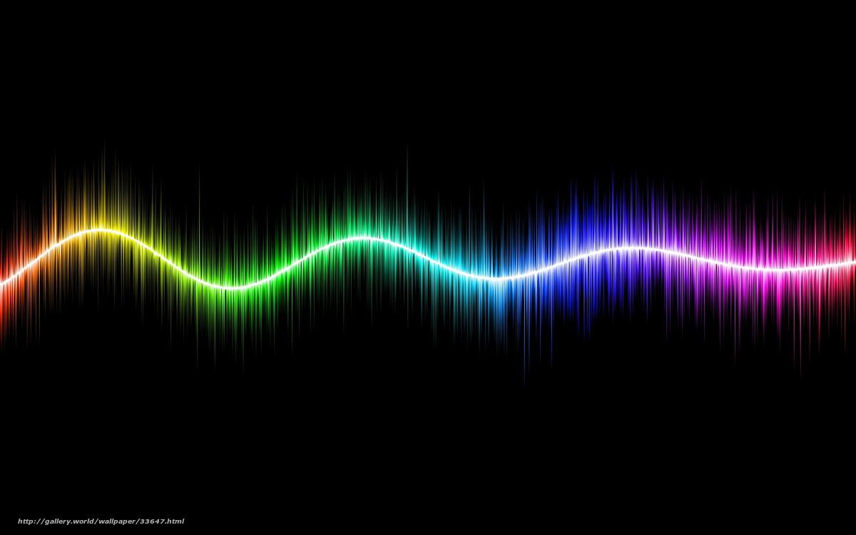 Скачать обои линия,  полосы,  цвет,  спектр бесплатно для рабочего стола в разрешении 1680x1050 — картинка №33647