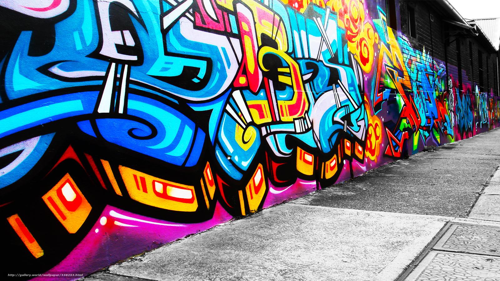 Tlcharger fond d 39 ecran style mur dessin peintures fonds for Fond ecran style