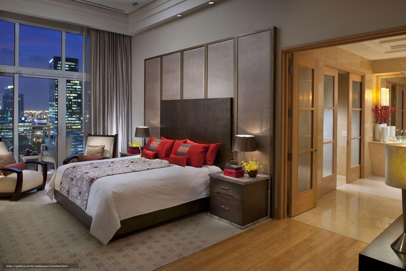 scaricare gli sfondi casa, appartamento, interno, camera da letto ...