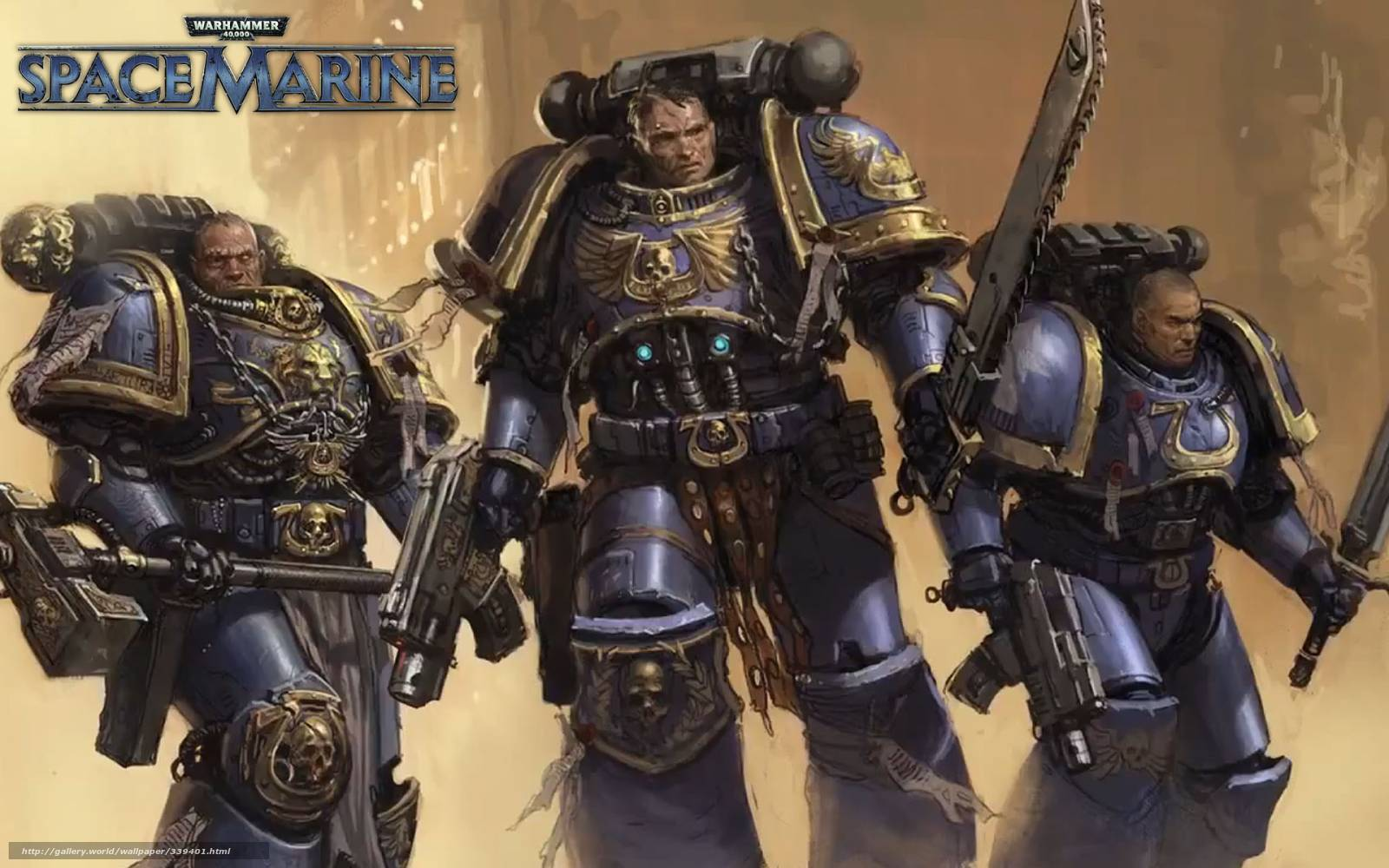 download wallpaper game, space marines, ultramarines free desktop