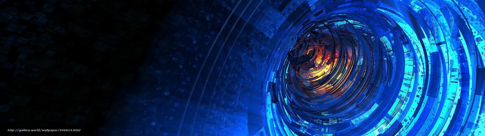 Descargar gratis comunidad,  luz,  ncleo,  explosin Fondos de escritorio en la resolucin 3840x1080 — imagen №340914