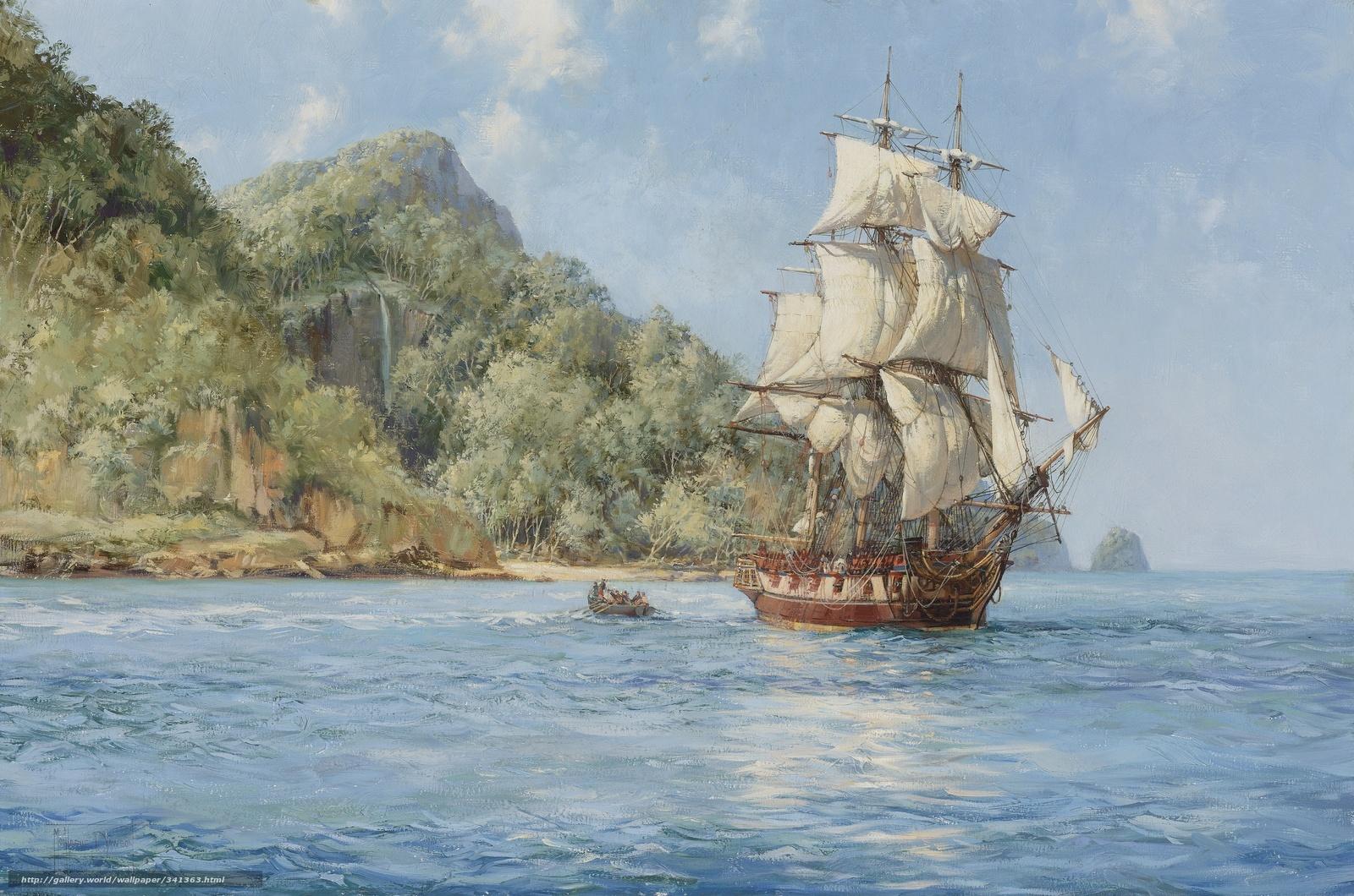 Segelschiffe auf dem meer  Download Hintergrund Meer, Segelschiff, Schiff, Boot Freie desktop ...