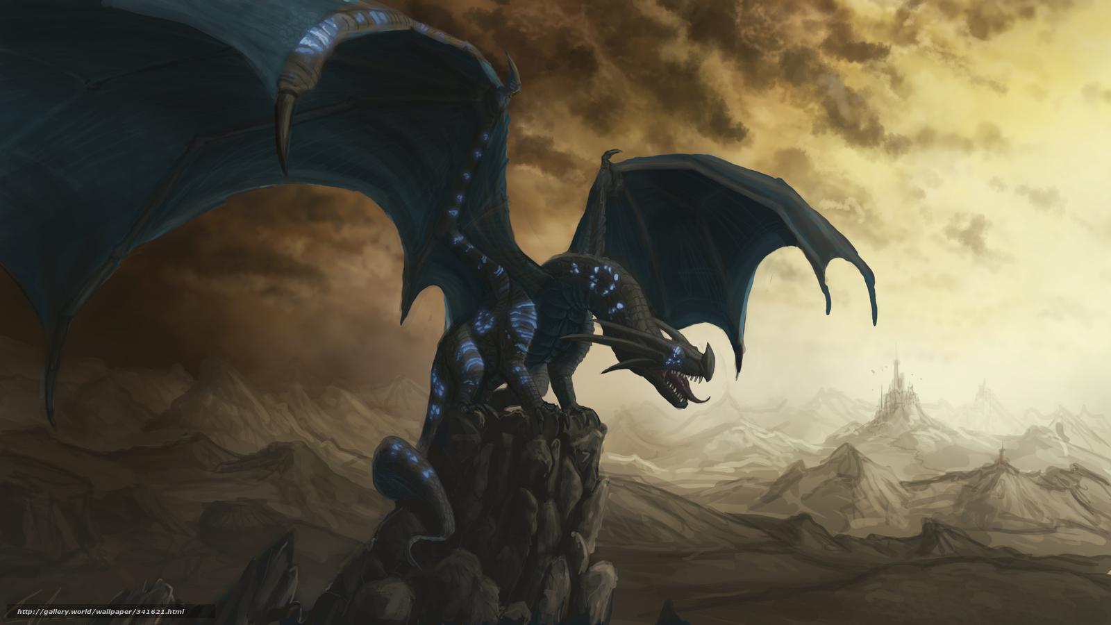 Tlcharger Fond Decran Noir Dragon Rocks Fonds Decran