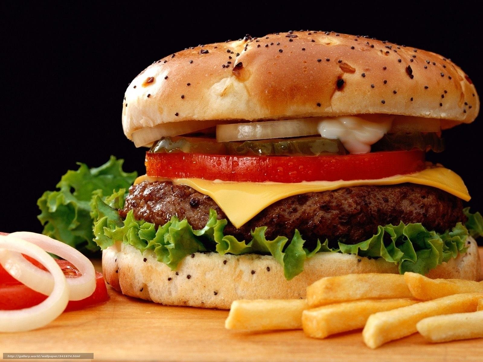 Скачать обои биг мак,  гамбургер,  бутерброд,  бургер бесплатно для рабочего стола в разрешении 1920x1440 — картинка №341974
