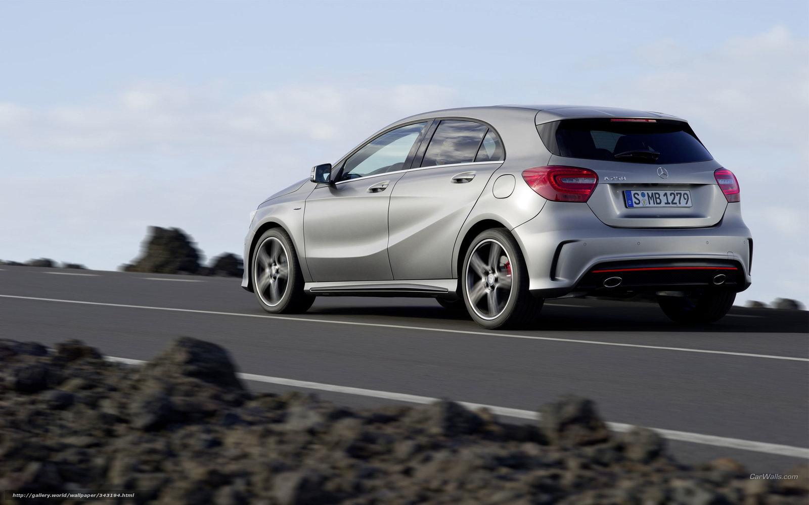 Tlcharger Fond D Ecran Mercedes Benz Une Classe Voiture