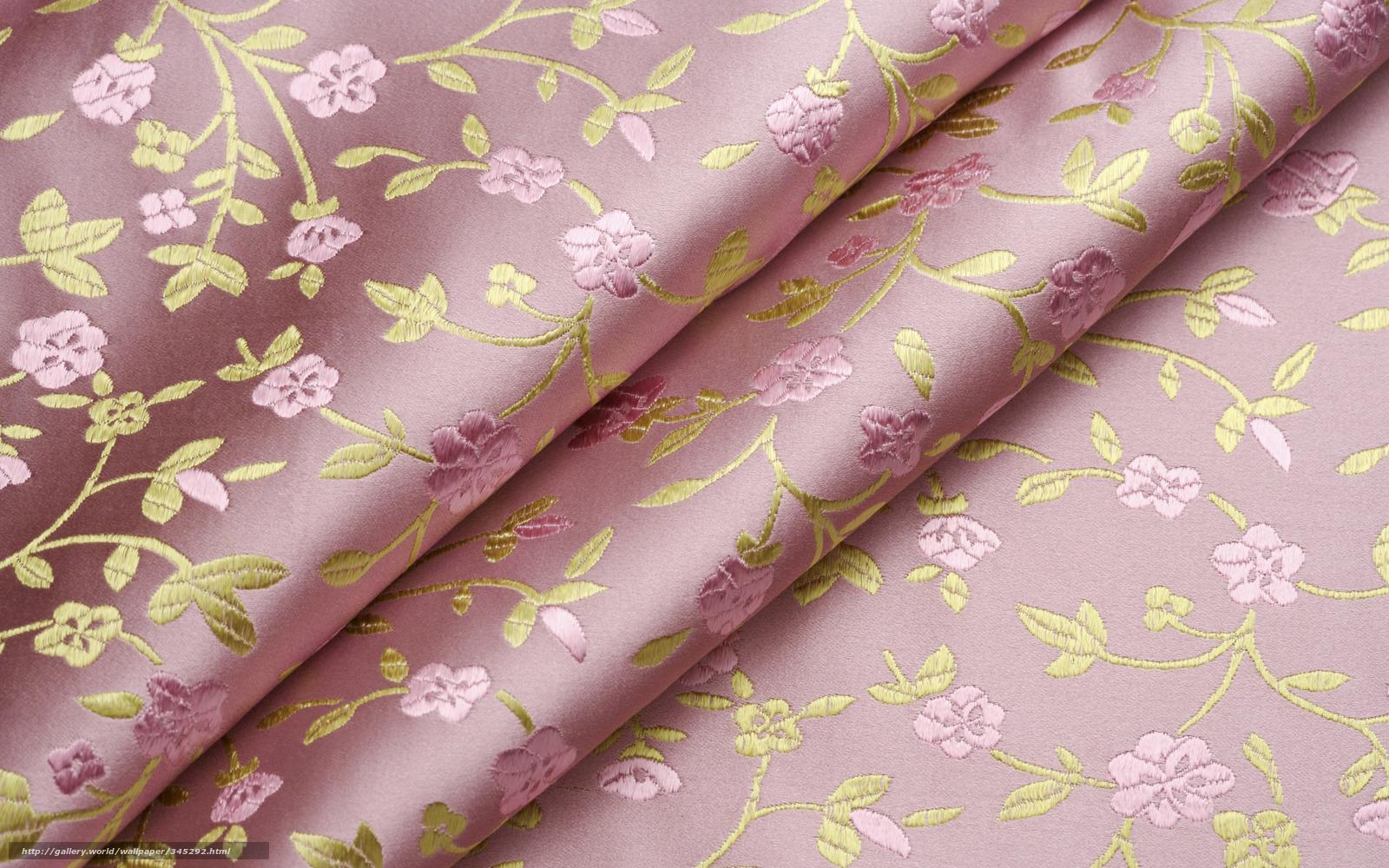 Скачать обои ткань,  узор,  цветы,  завитки бесплатно для рабочего стола в разрешении 1920x1200 — картинка №345292
