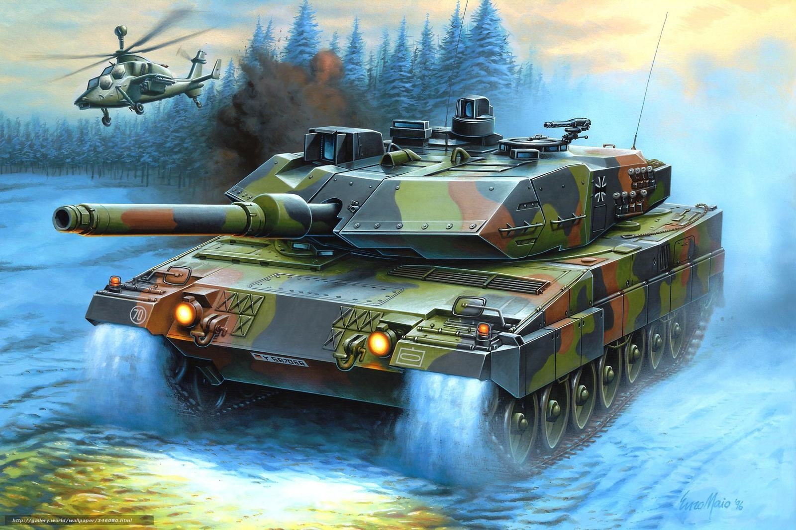 Download wallpaper picture helicopter main battle tank - Wallpaper picture ...