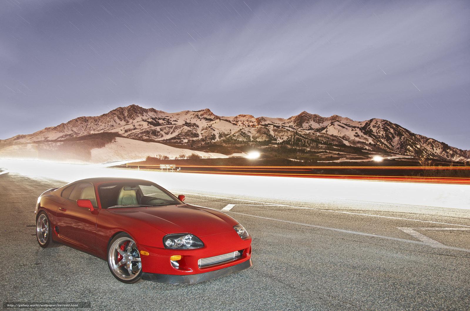 Download wallpaper Toyota,  supra,  toyota free desktop wallpaper in the resolution 4928x3264 — picture №347687