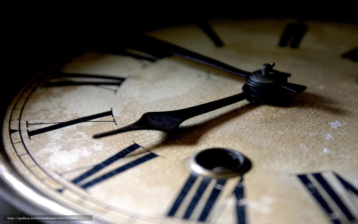 Скачать обои часы,  стрелки,  кракелюры бесплатно для рабочего стола в разрешении 2560x1600 — картинка №34774