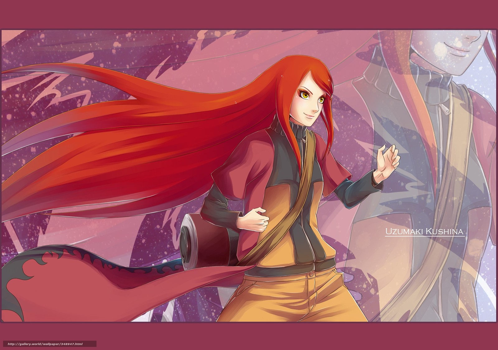 Download wallpaper naruto,  uzumaki kushina,  girl free desktop wallpaper in the resolution 2011x1411 — picture №348947