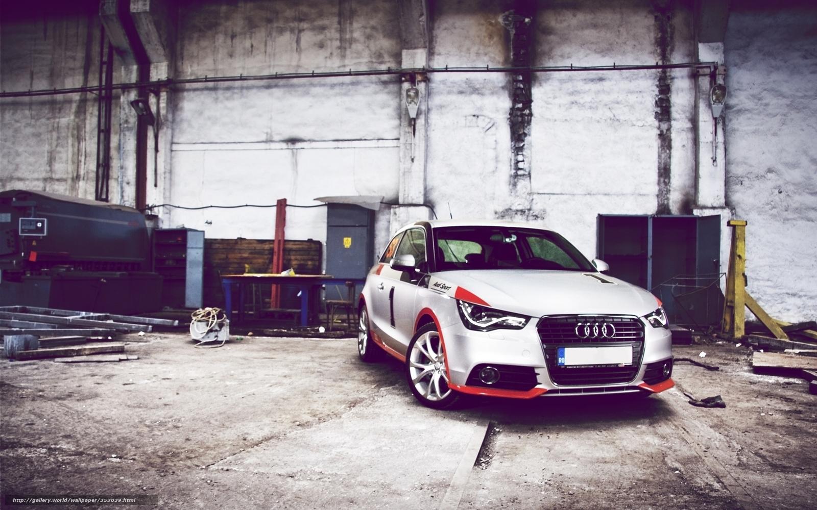 Download Wallpaper Garage, Car Wallpaper, Audi Free Desktop Wallpaper In  The Resolution 1680x1050 U2014 Picture №353039