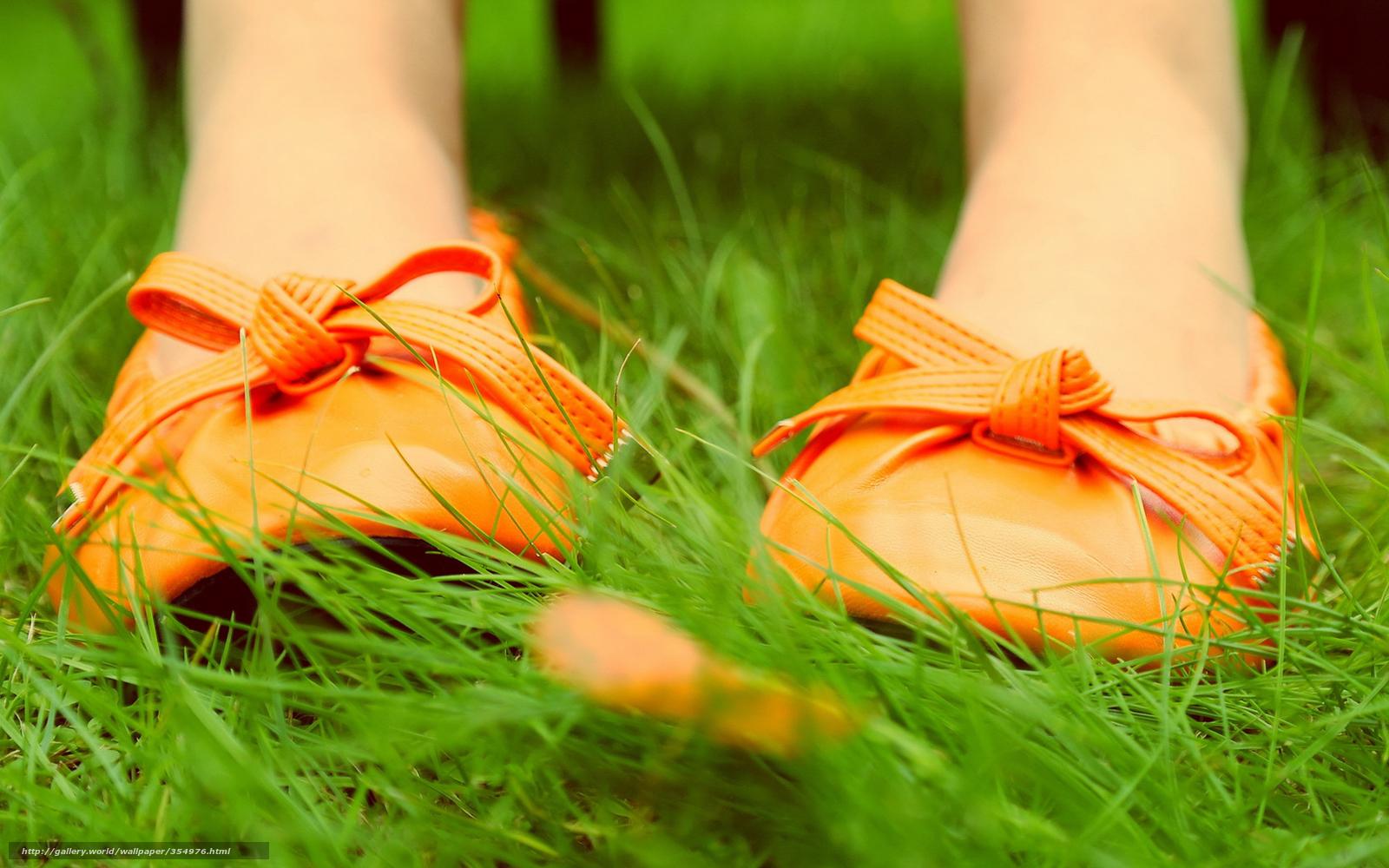 Descargar gratis Naturaleza,  zapatos,  hierba,  lista Fondos de escritorio en la resolucin 1680x1050 — imagen №354976