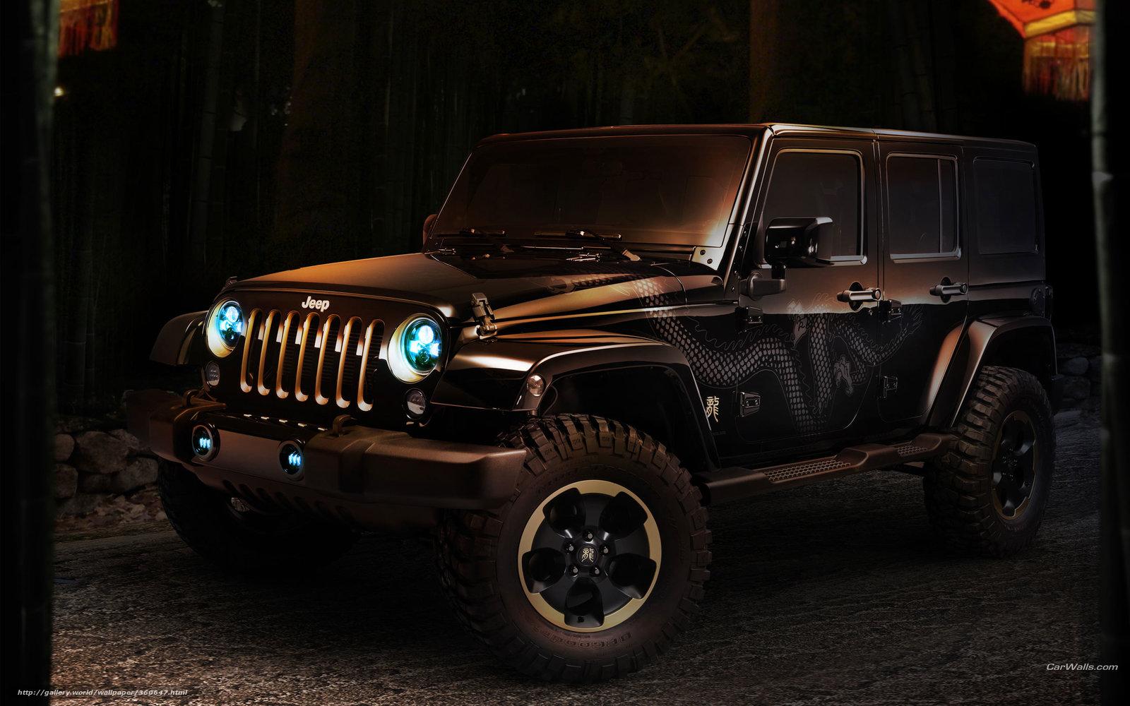 Скачать обои Jeep,  Wrangler,  авто,  машины бесплатно для рабочего стола в разрешении 2560x1600 — картинка №360647