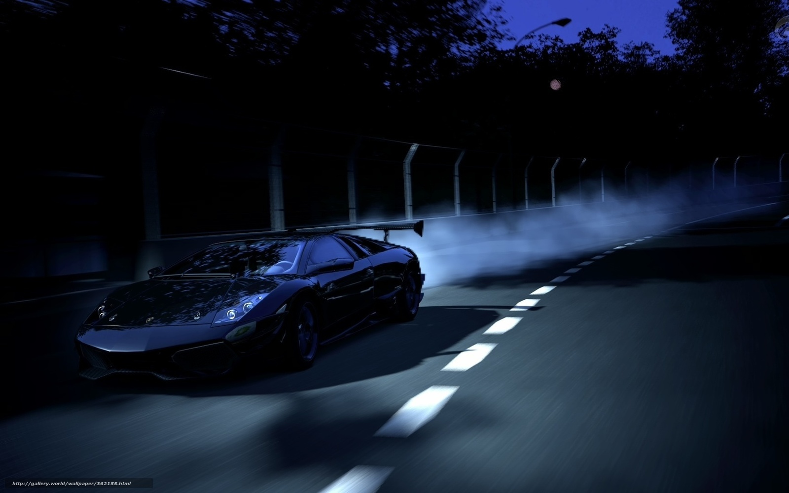 Download Wallpaper Night Lamborghini - 362155_noch_trassa_skorost_Lamborghini_1680x1050_www  You Should Have-81638.jpg