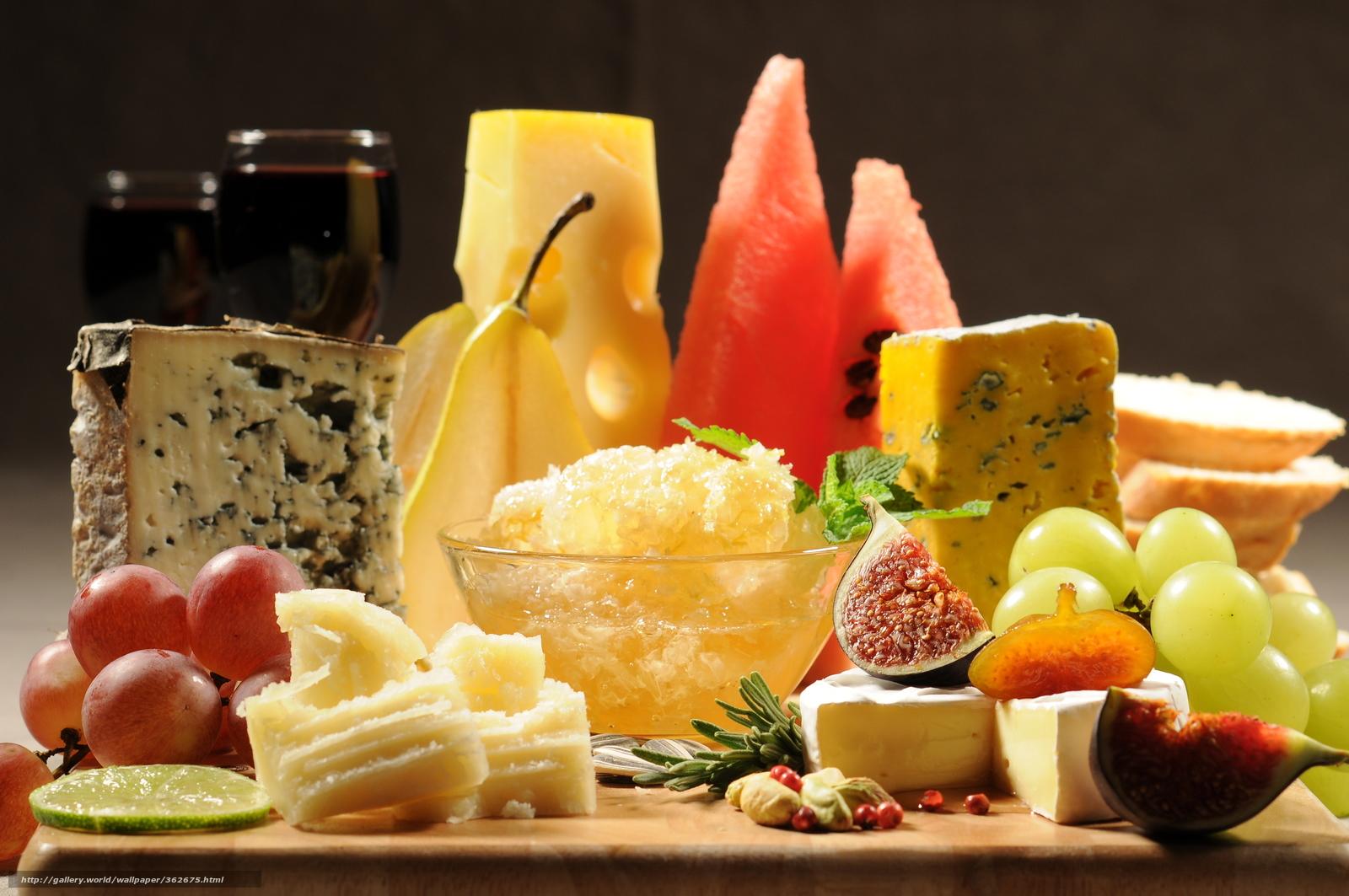 Скачать обои сыр,  сырная тарелка,  французская кухня бесплатно для рабочего стола в разрешении 4288x2848 — картинка №362675