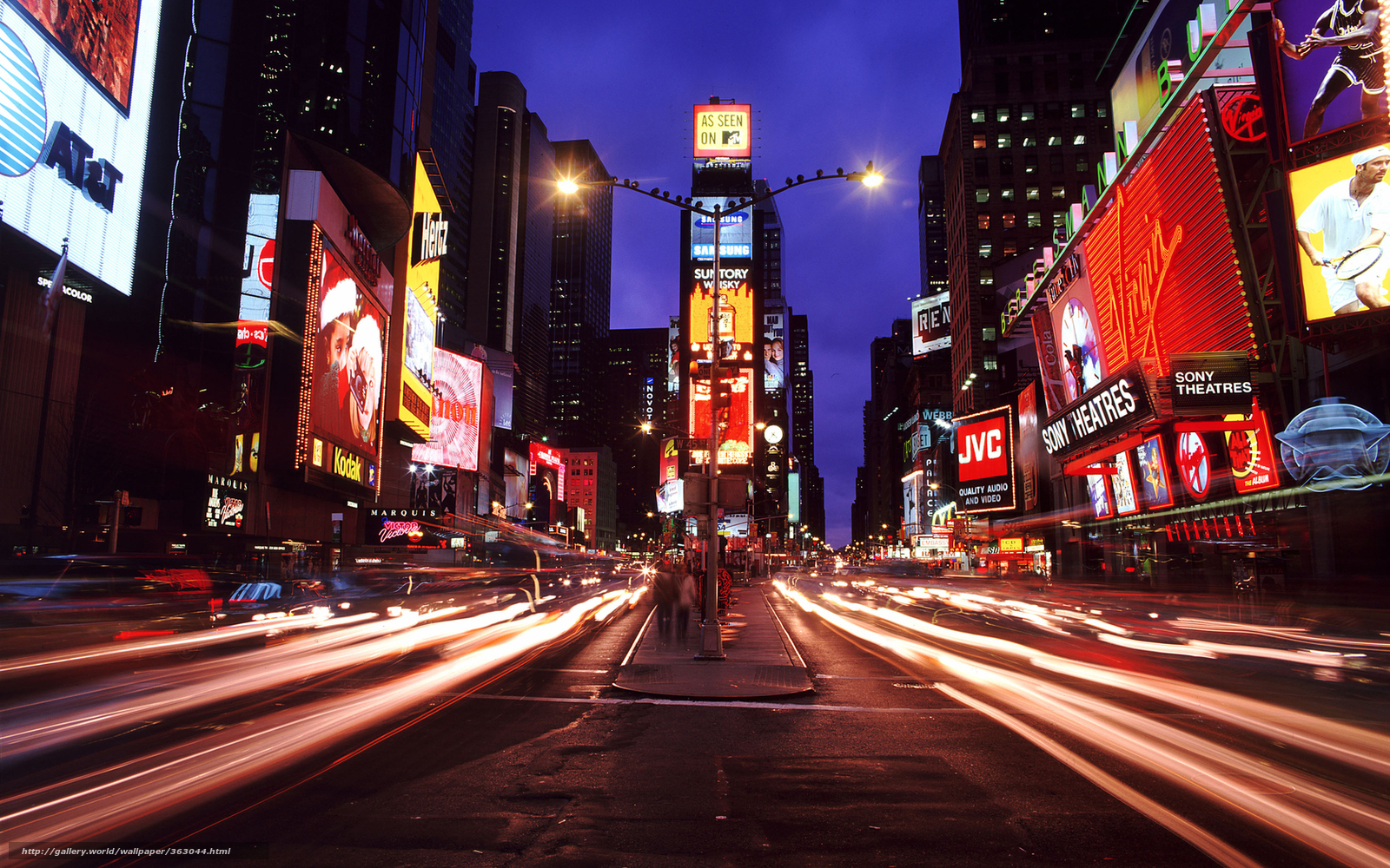 Tlcharger fond d 39 ecran new york times square ville la for Photo ecran times square