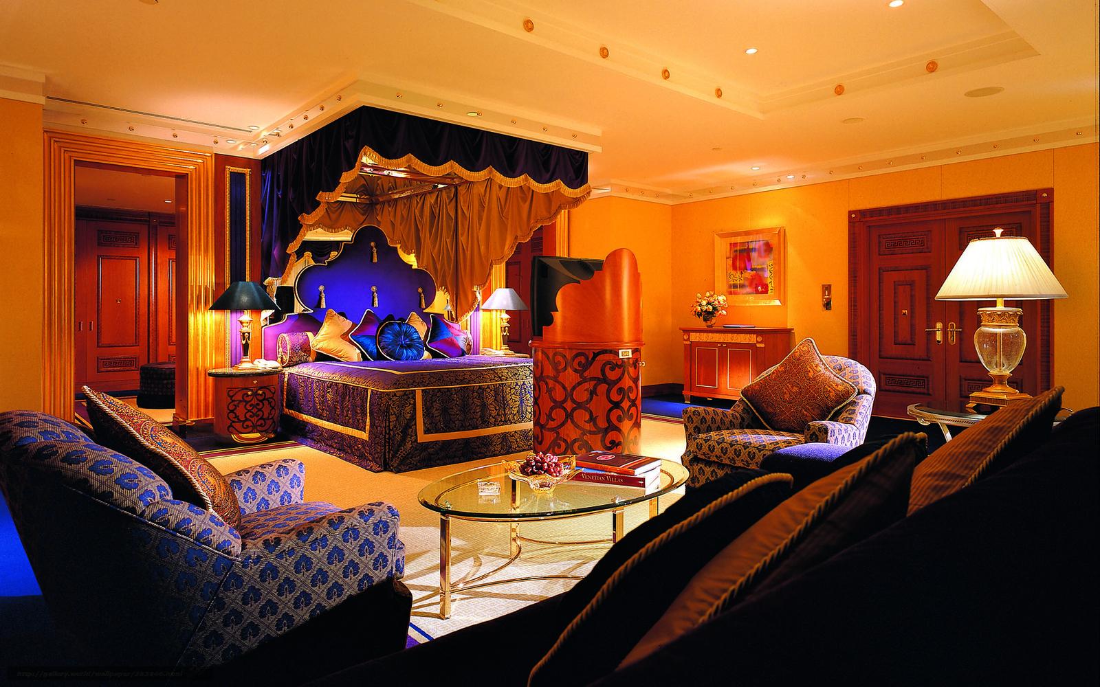 scaricare gli sfondi albergo, Al, Arabo, camera da letto Sfondi ...