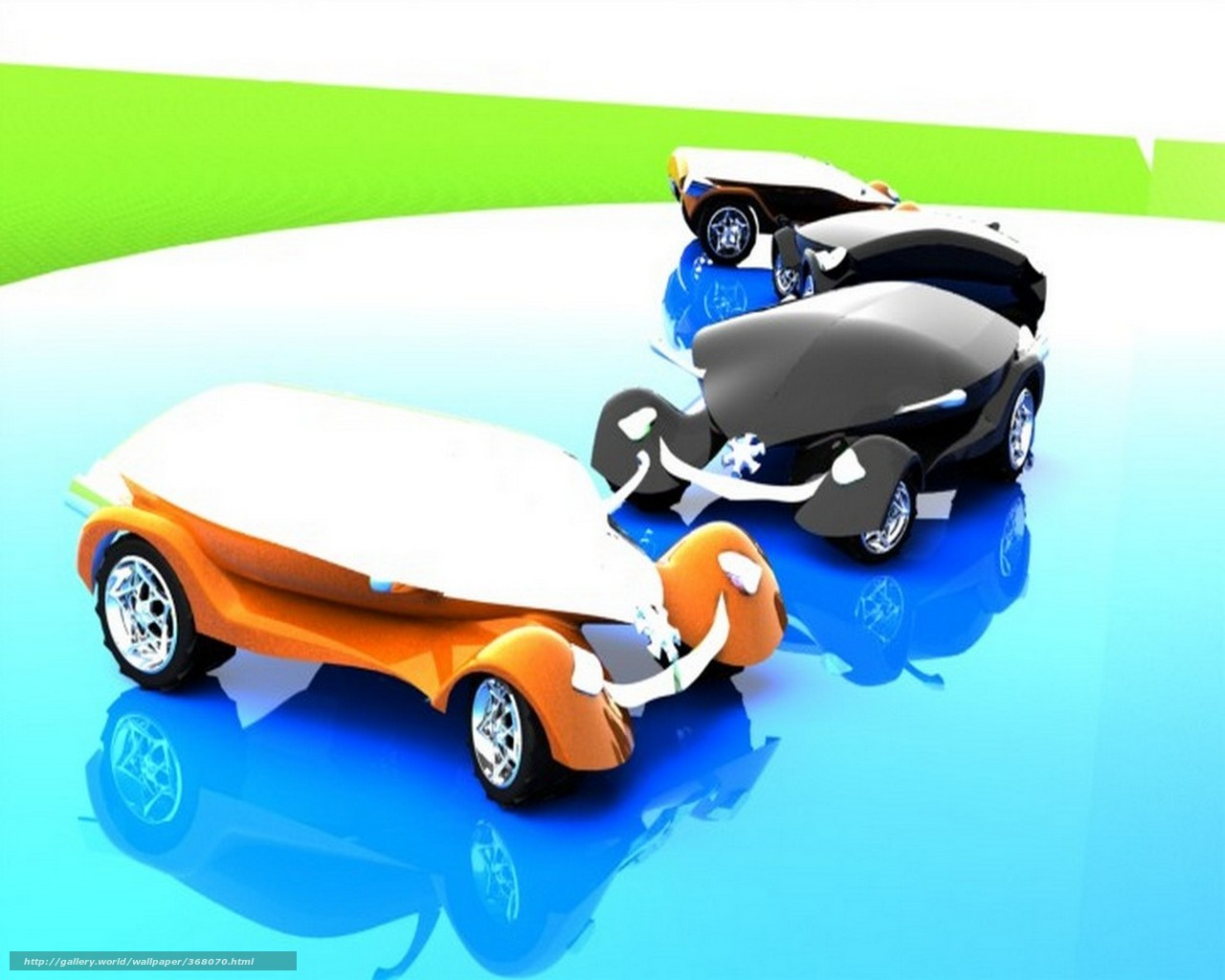 Download wallpaper Car,  Rendering,  Hi-Tech free desktop wallpaper in the resolution 1280x1024 — picture №368070