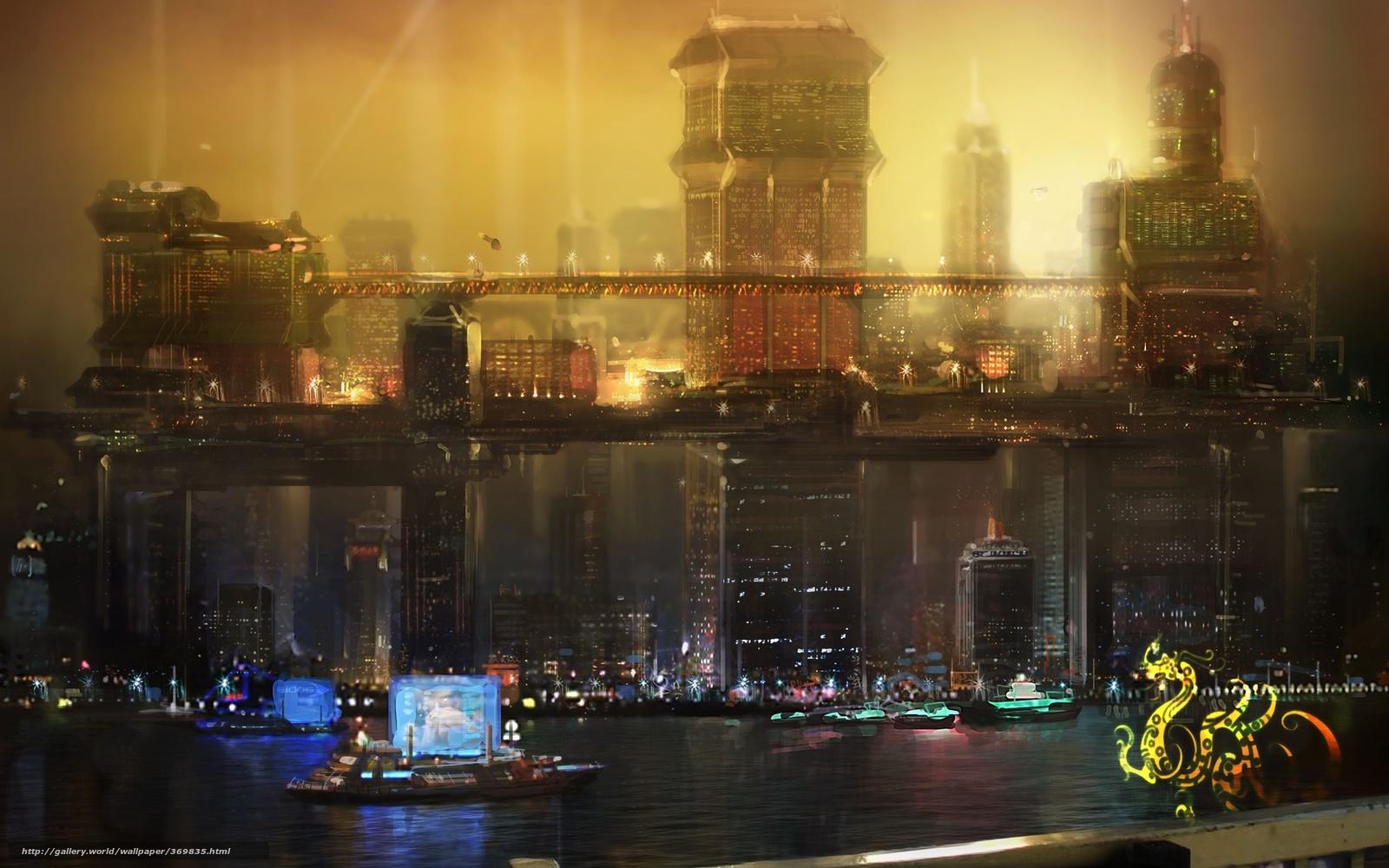 Future City Wallpaper Night | www.imgkid.com - The Image ...