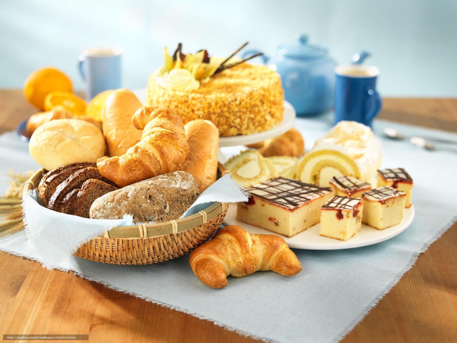 Скачать обои выпечка,  торт,  хлеб бесплатно для рабочего стола в разрешении 5440x4080 — картинка №370342