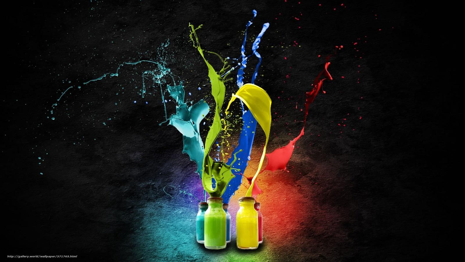 Download Hintergrund Farbe, Farbe, Farben Freie desktop Tapeten in ...