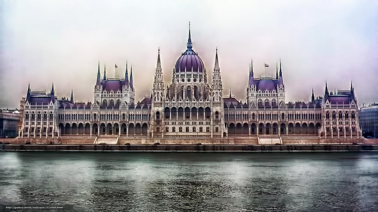 Descargar gratis Budapest,  arquitectura,  Ciudad,  ro Fondos de escritorio en la resolucin 1920x1080 — imagen №372605