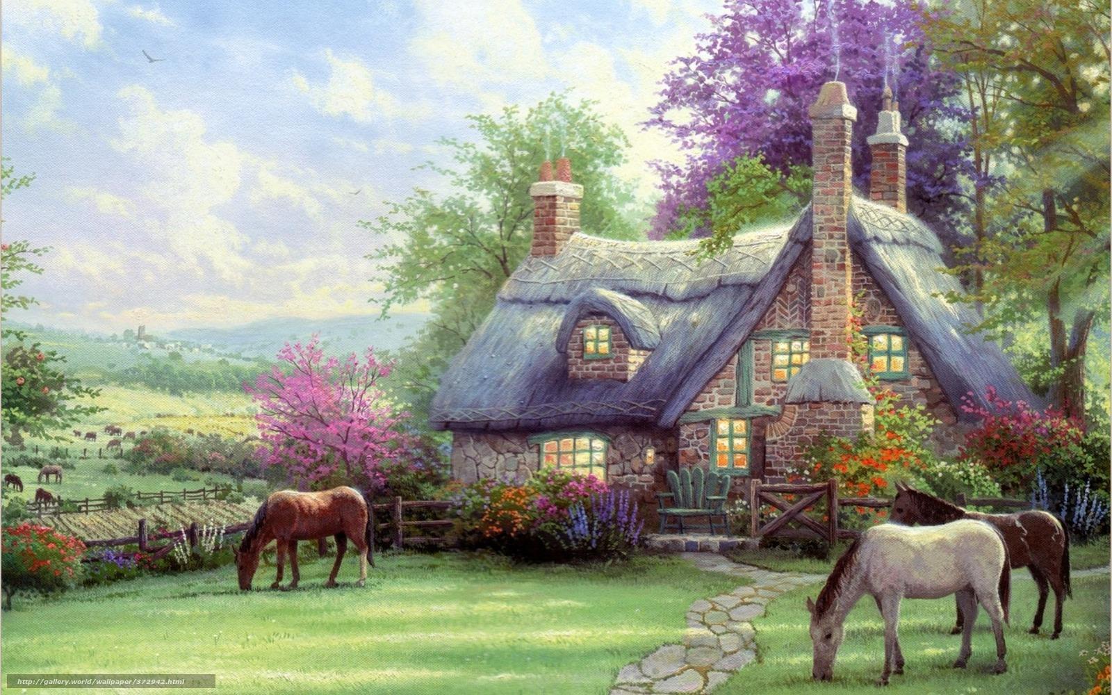 peinture chevaux wallpaper - photo #21