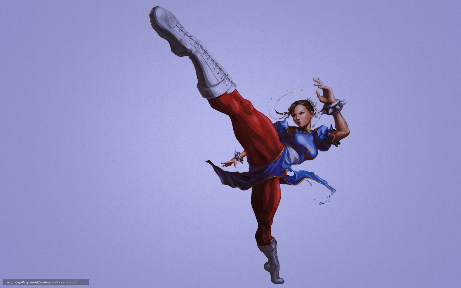 download wallpaper street fighter, girl, karate, strike free desktop