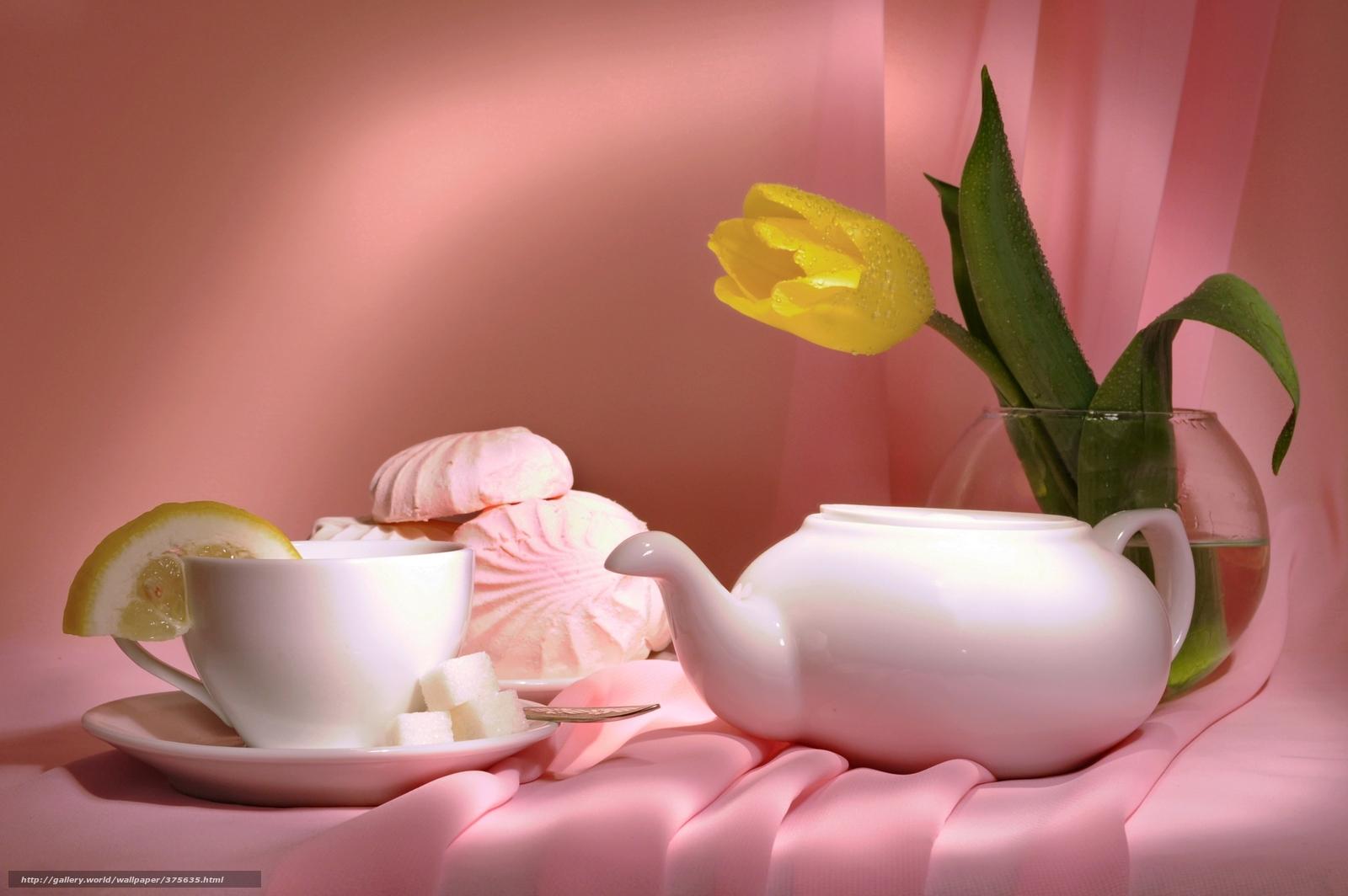 Обои цветы, чай, натюрморт. Разное foto 14