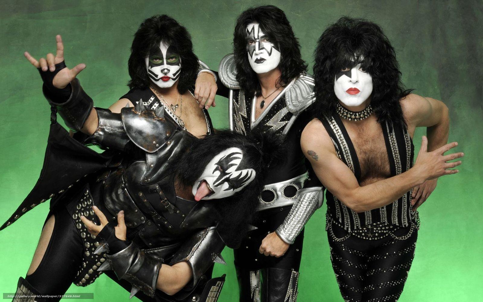 Скачать обои рок-группа,  макияж,  хиппи бесплатно для рабочего стола в разрешении 1680x1050 — картинка №377649