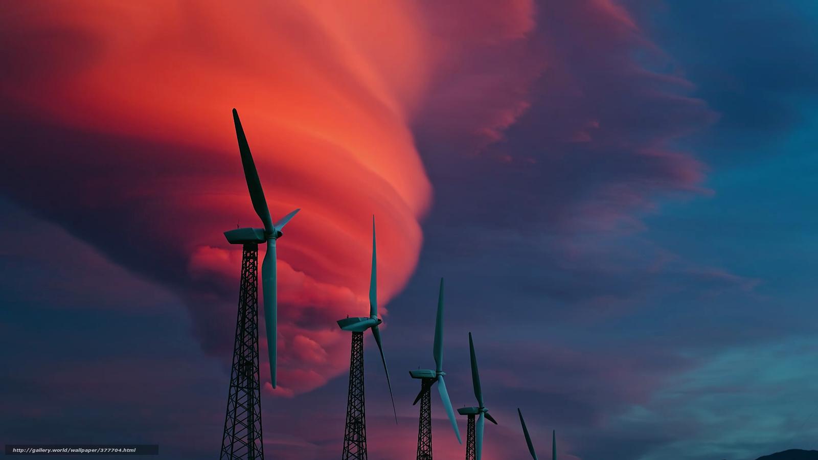 Обои ветряк. Разное foto 13