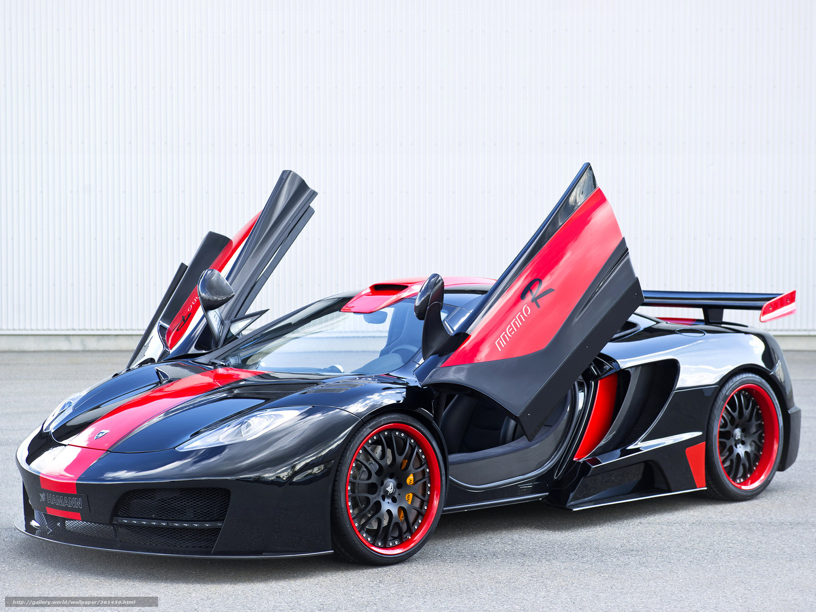Download wallpaper hamman sports car black red free desktop wallpaper in the resolution 2048x1536 picture 381430