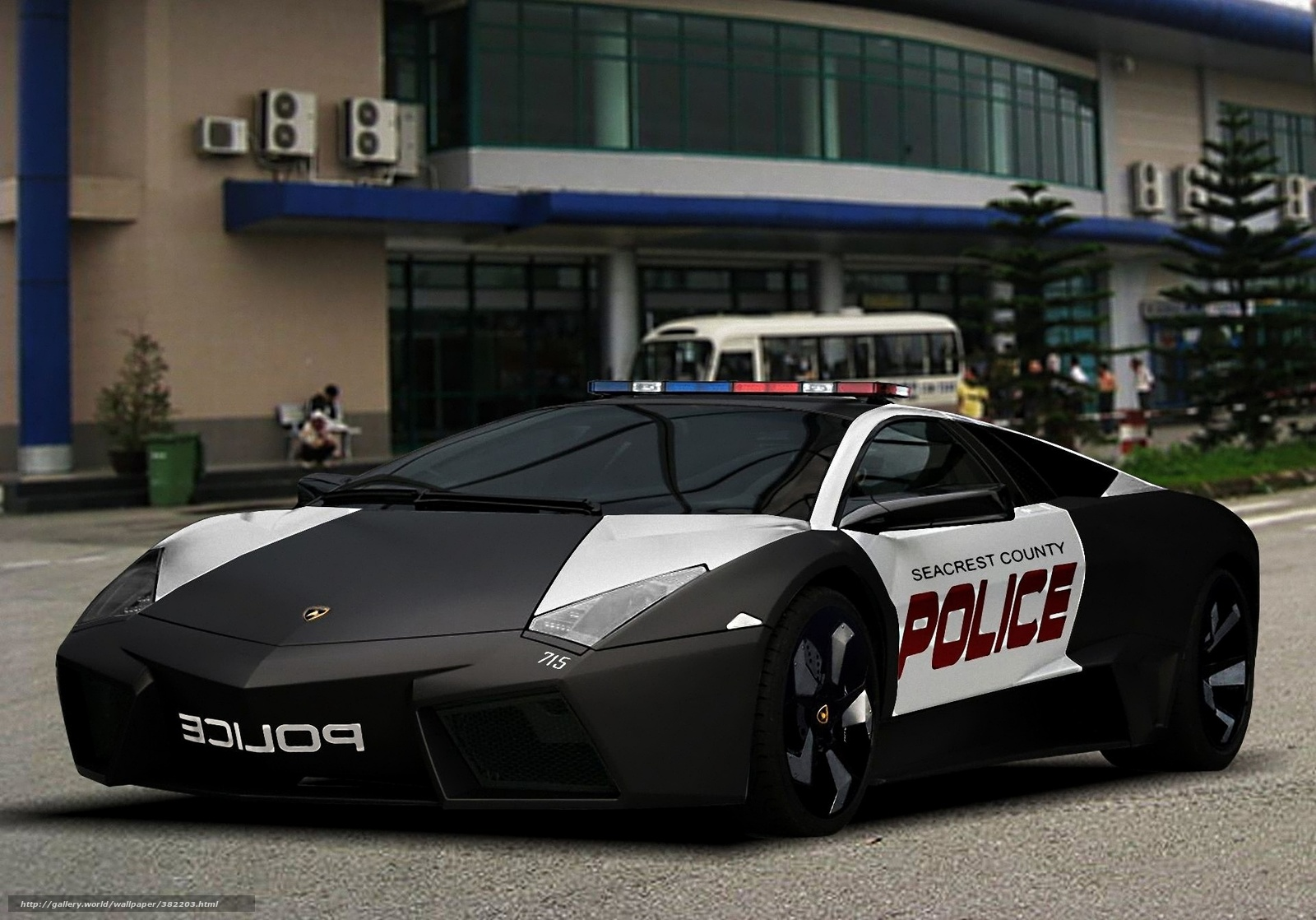 ламборджини ревентон полиция обои