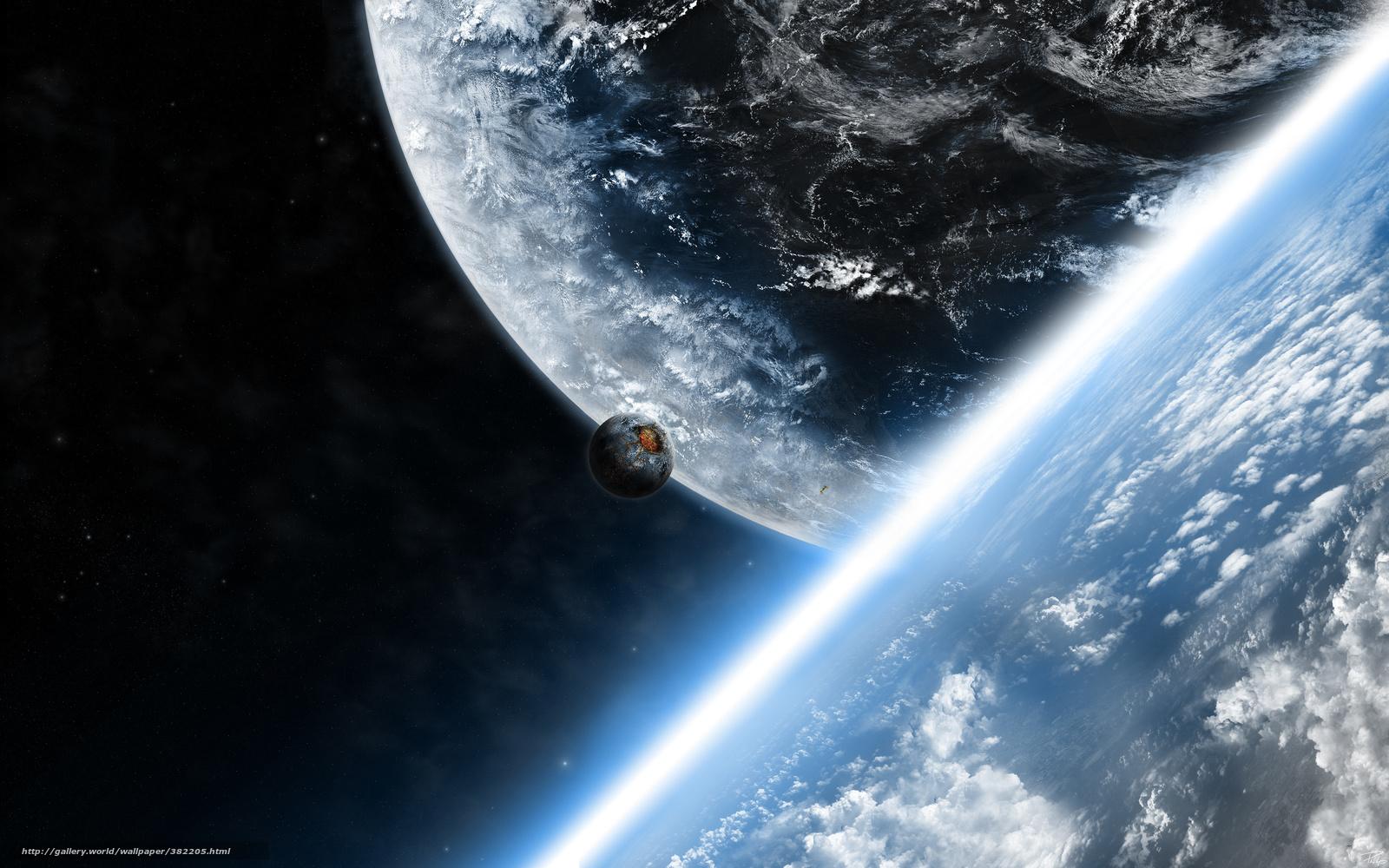 4к обои на рабочий стол космос 1
