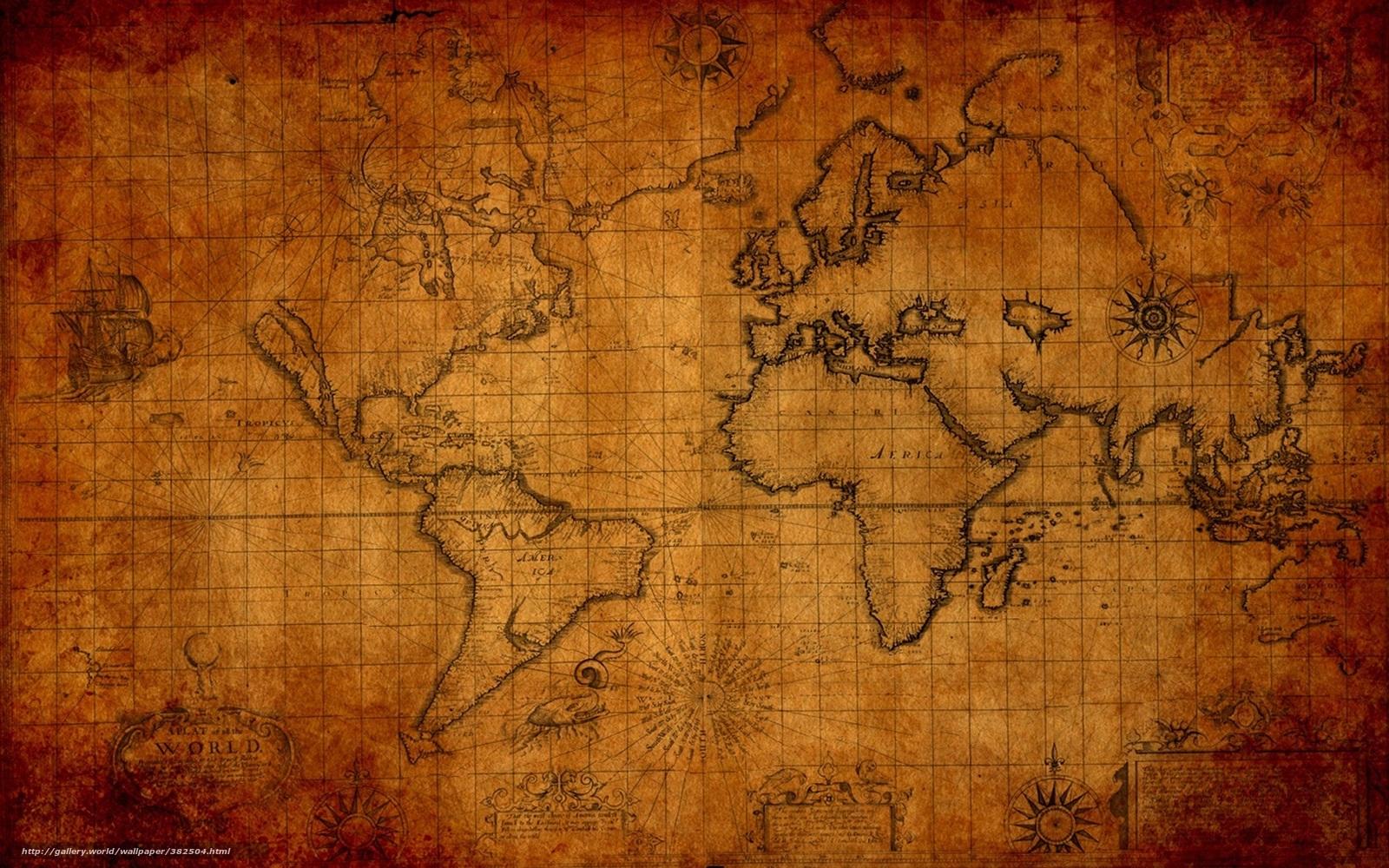 Tlcharger fond d 39 ecran vieux carte monde fonds d 39 ecran for Fond ecran monde