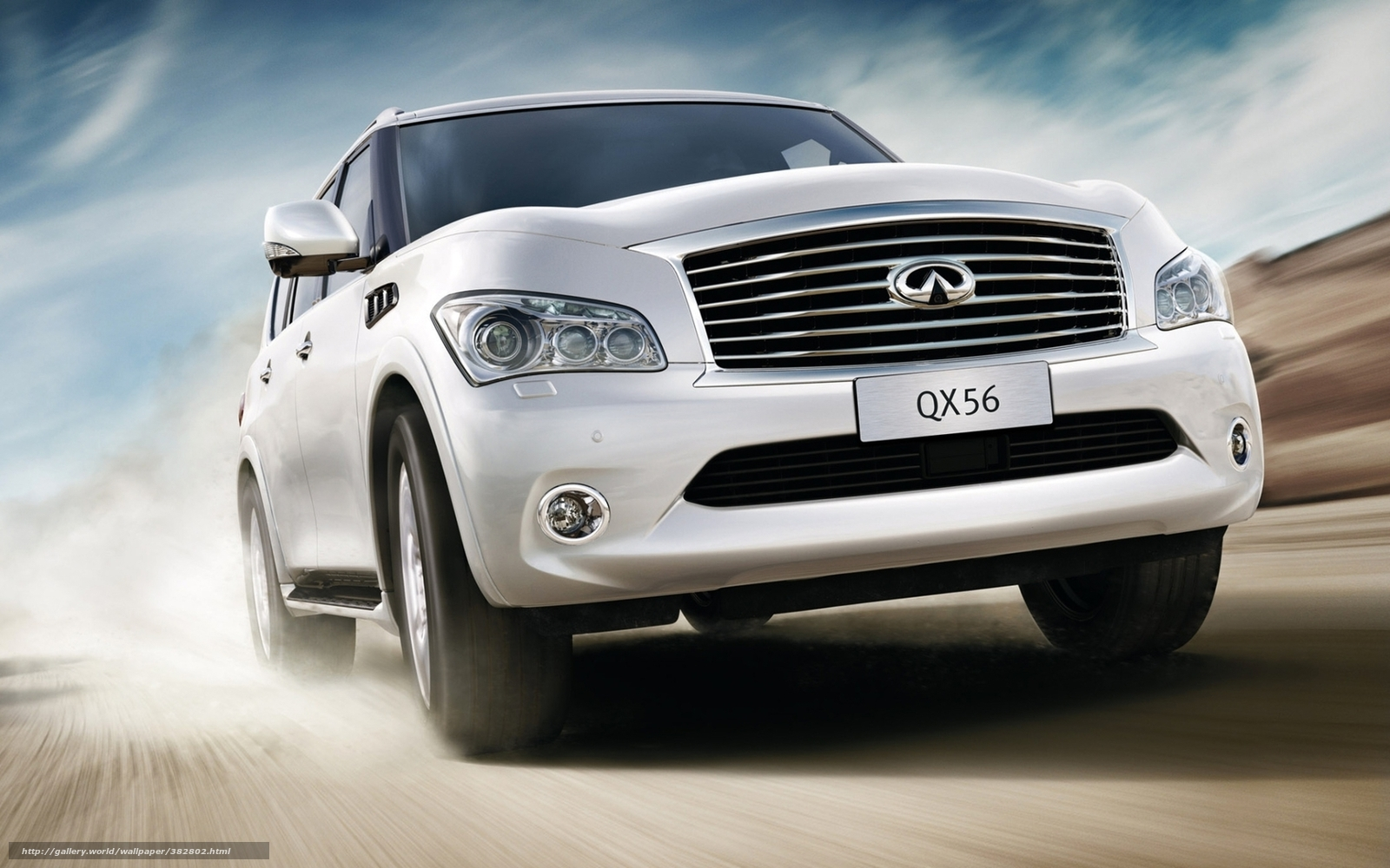 Download Wallpaper Infinity Luxury Suv Jeep Free