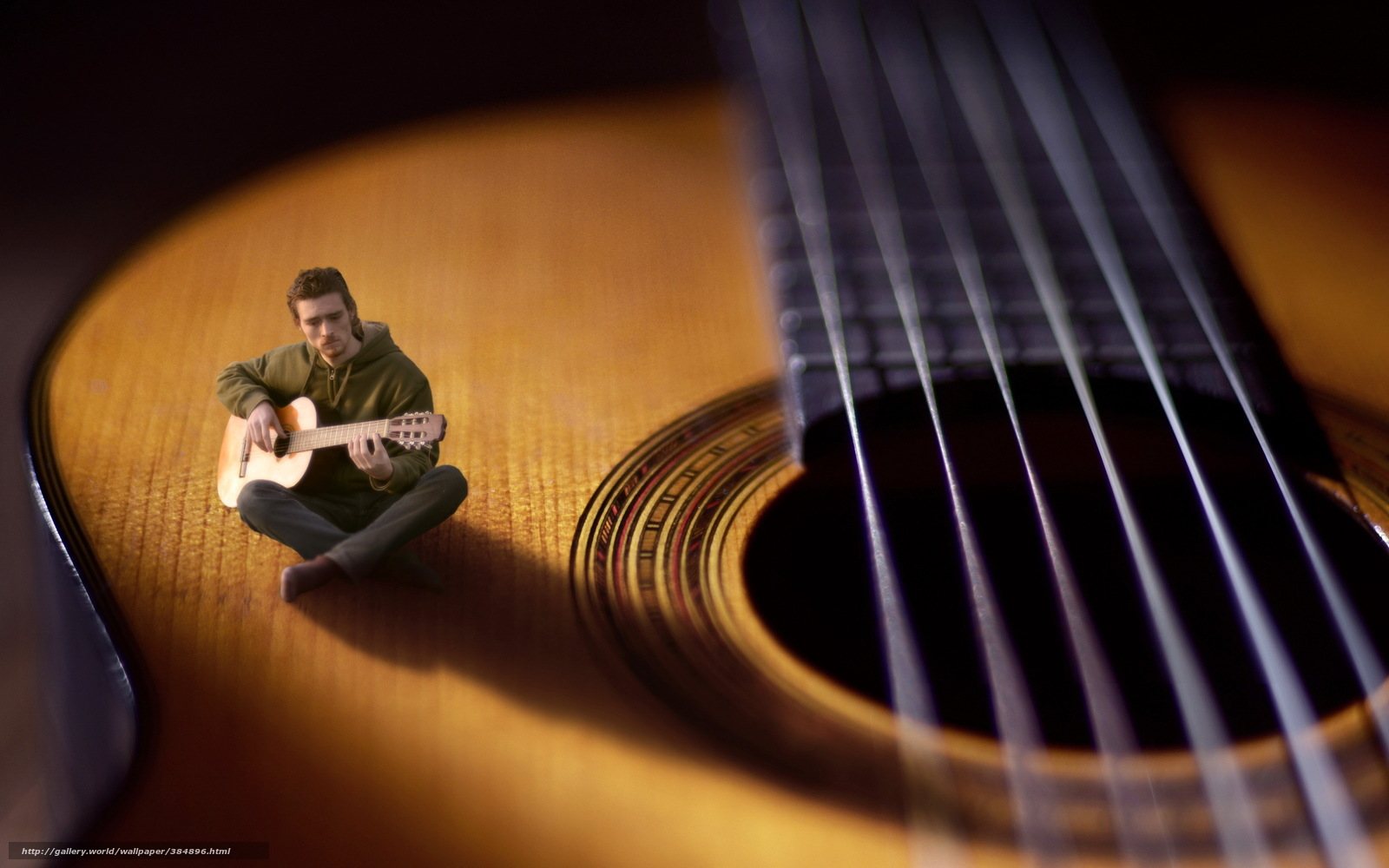 Tlcharger fond decran musicien guitare musique fonds decran