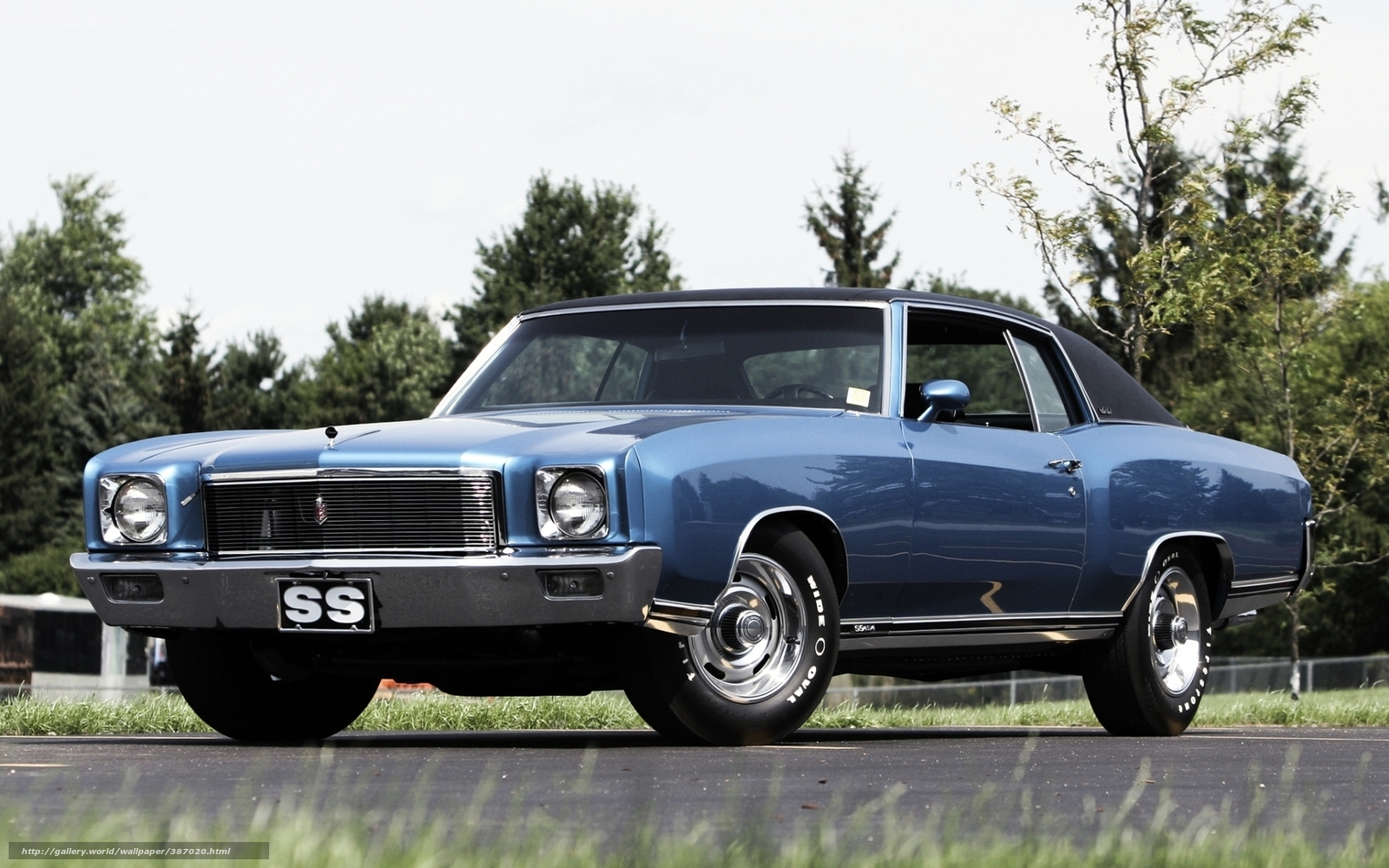Download wallpaper chevrolet monte carlo front muscle car free desktop wallpaper in the resolution 1680x1050 picture 387020
