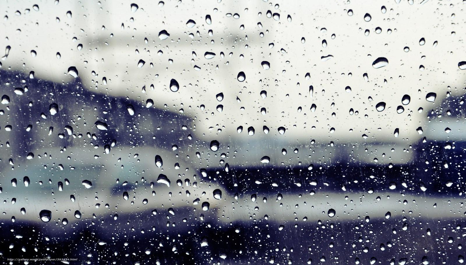 raindrops full hd wallpapers