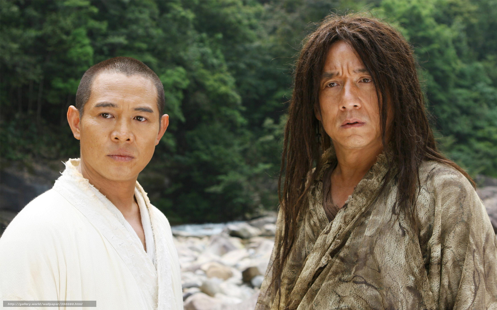 Download Wallpaper The Forbidden Kingdom Jackie Chan Jet Li Film