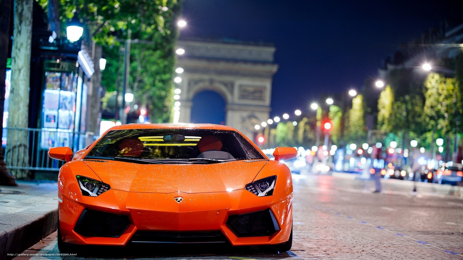 Download Wallpaper Car City Lights Cars Free Desktop Wallpaper In The Resolution 1920x1080 Picture 390300