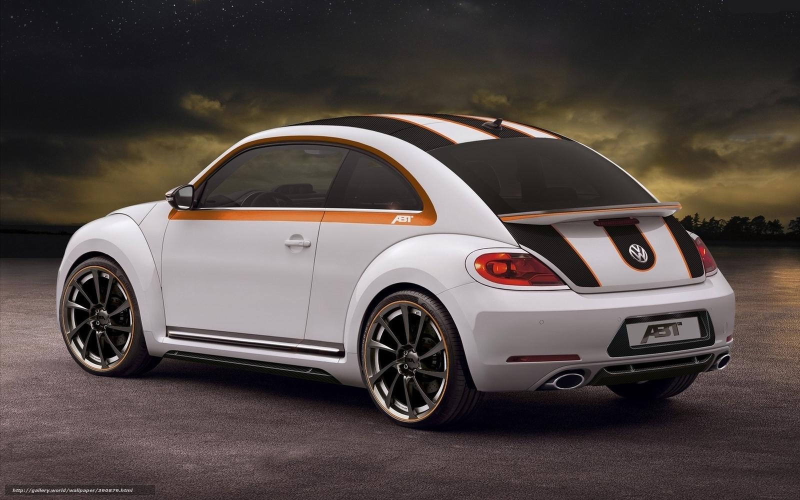 Download wallpaper Volkswagen,  Beatle,  Beetle,  Hatchback free desktop wallpaper in the resolution 1680x1050 — picture №390879
