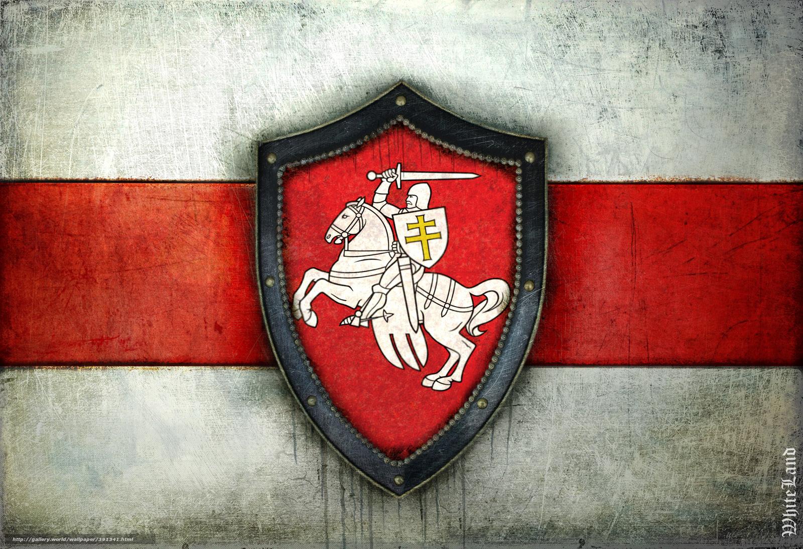 scaricare gli sfondi bandiera,  stemma,  Bielorussia,  inseguimento Sfondi gratis per la risoluzione del desktop 2339x1600 — immagine №391341