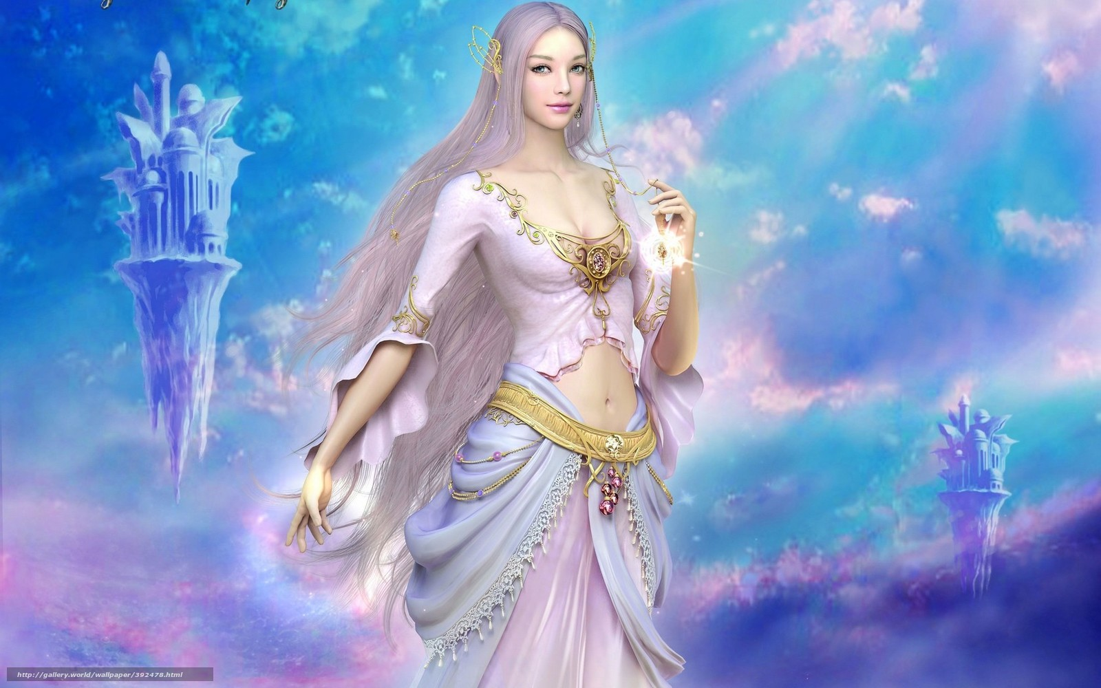 Download Wallpaper Eteyn Light And Darkness Goddess Beauty Free Desktop Wallpaper In The Resolution 1680x1050 Picture 392478